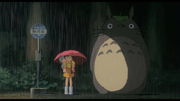 Image result for my neighbor totoro bus stop