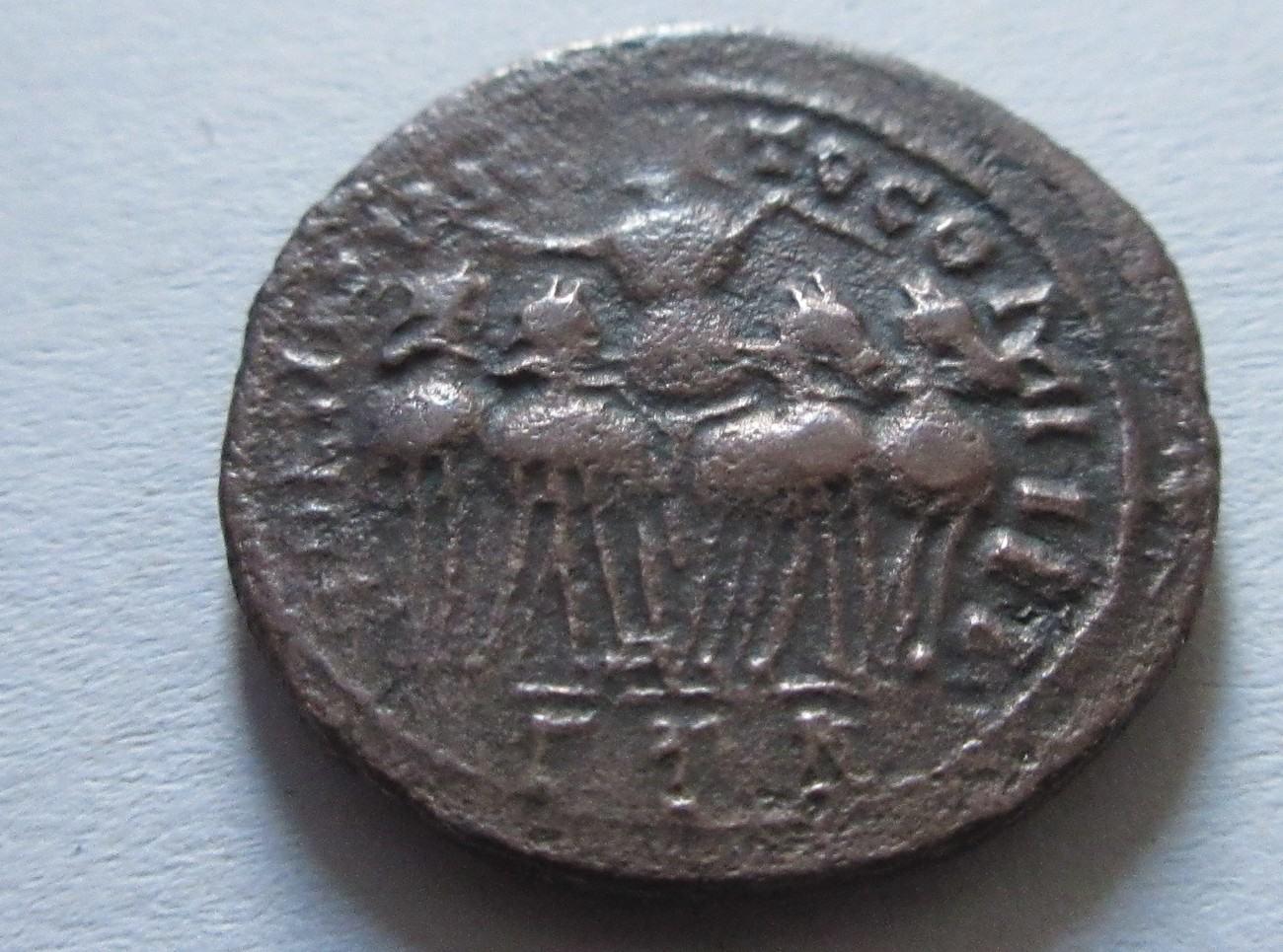 Billon Argenteus 313 N Chr Rom Billon Argenteus Von