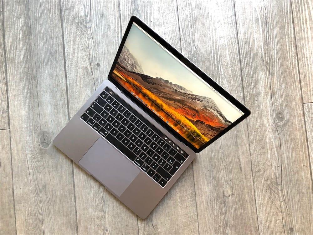 macbook pro 13 pouces avec touch bar