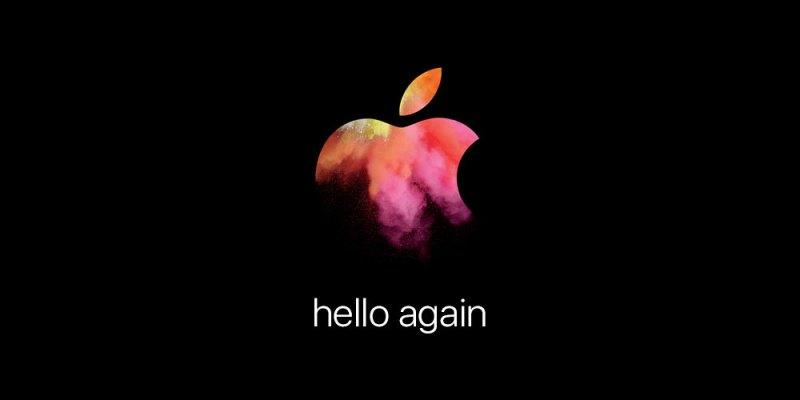 hello again!10/28 讓我們一起來期待蘋果發表會吧!