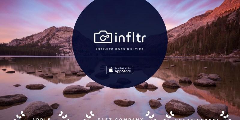 Apple Store App 專屬於你:infltr 限時免費兌換強大的照片濾鏡 App