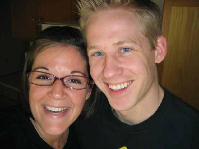 Pic of Matt and Rachel