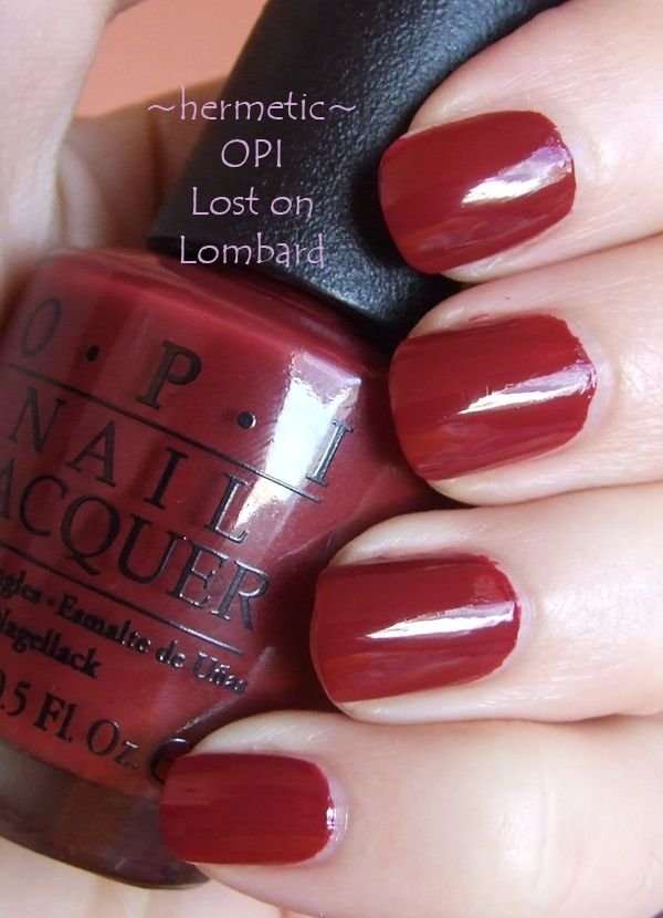 Makeupalley Opi Big Apple Red | Jidimakeup.com