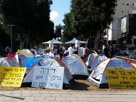 תוצאת תמונה עבור מחאת האוהלים