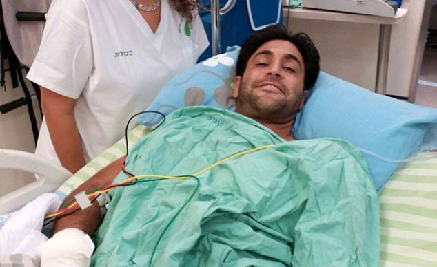 Aliniv Barda in hospital (Photo: News 2)
