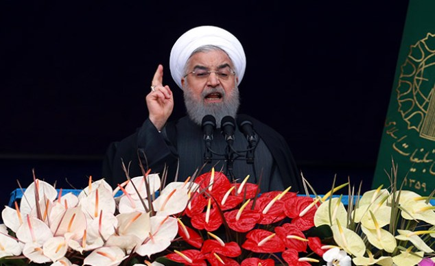 Rouhani announced a withdrawal from the agreement about a month ago