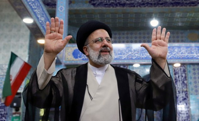 Elected Iranian President Ibrahim Raisi (Photo: Reuters)