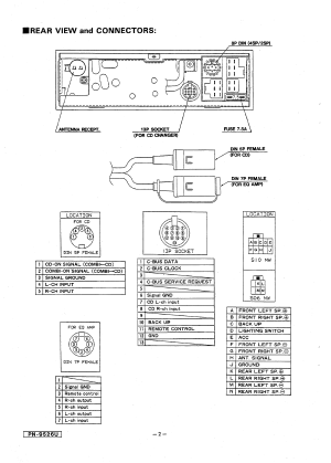 CLARION MANUAL  Auto Electrical Wiring Diagram