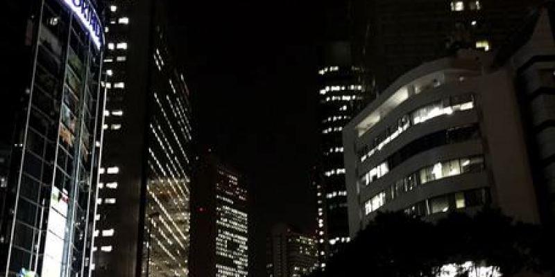 東京新宿景點|東京都廳展望台--免費俯視東京的美麗夜景