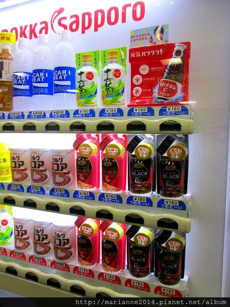 日本北陸自助 販賣機巡禮