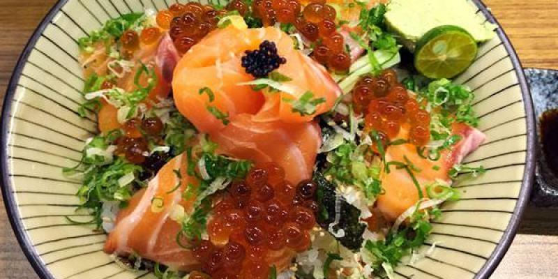 台中西區美食|羽笠食事處--新鮮、美味的丼飯底家啦