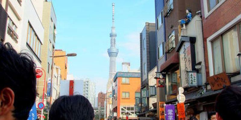 東京景點 從淺草寺散步到晴空塔(Tokyo Sky Tree)