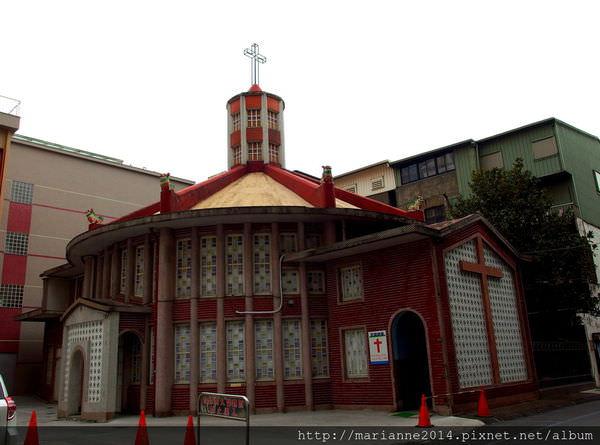宜蘭羅東景點|聖母醫院耶穌聖心堂