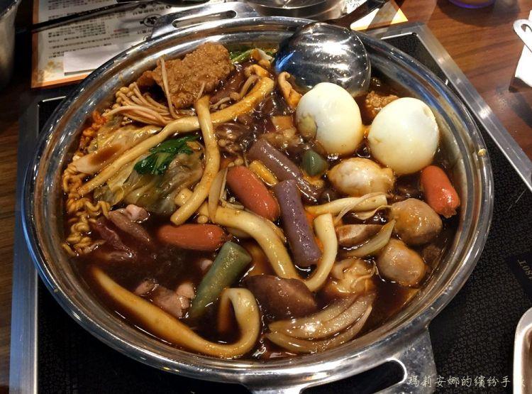 台中北區美食|兩餐두끼韓國年糕火鍋吃到飽@中友店
