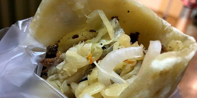 台中北區小吃|饕饌小食堂 烤肉飯糰、燒餅 一中街美食必吃