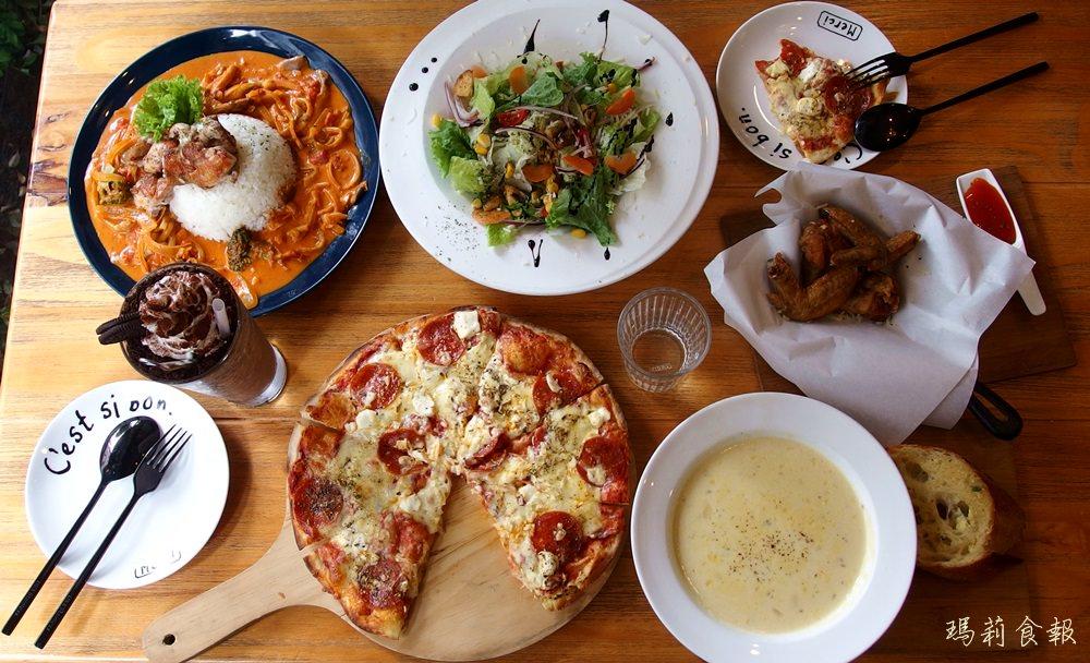 灰房子義式餐廳,一中商圈美味義大利麵