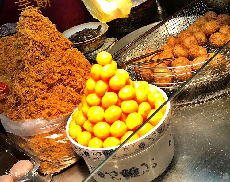 台北雙連站美食|劉芋仔 手工做的香酥芋丸 蛋黃芋餅 米其林推薦寧夏夜市必吃