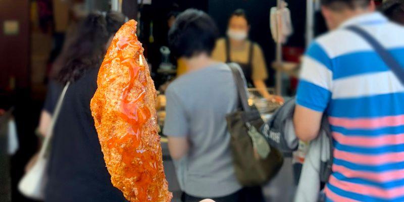 台中北區美食 萬華丁香旗魚串 食尚玩家也推薦的一中街美食