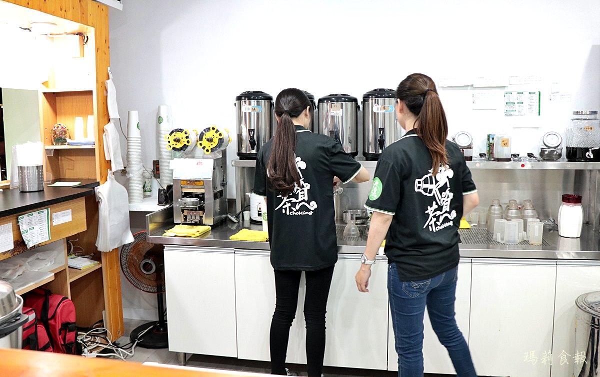 茶覓飲品服務人員親切,台中飲料