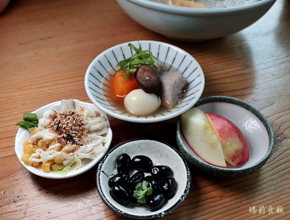 台中北區美食,初綠和風定食抹茶專賣,北海道湯咖哩,台中下午茶森半抹茶粉