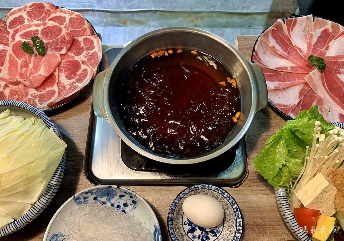 台中西區美食,老式吃鍋,勤美商圈,十全藥膳湯頭