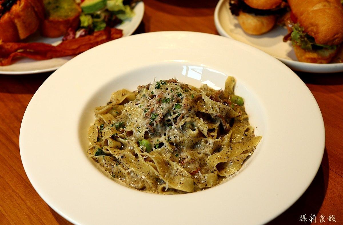 台中南屯美食,Bistro88 Light,從早午餐到宵夜全時段供餐,義大利寬麵
