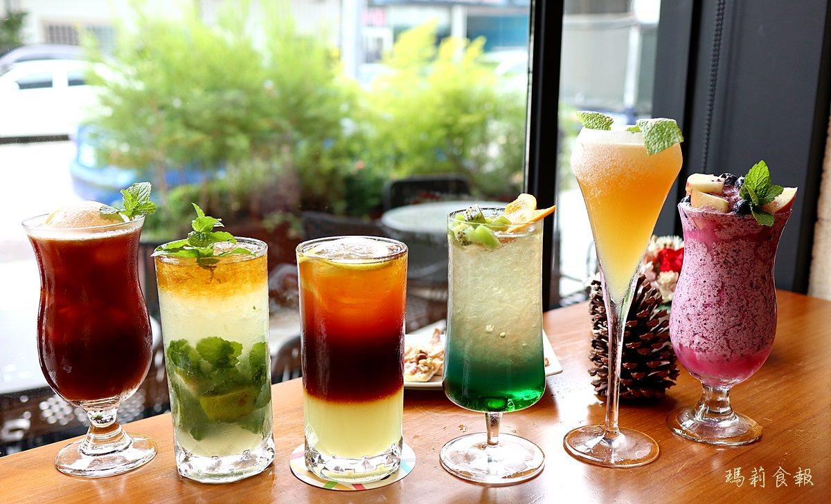 台中南屯美食,Bistro88 Light,從早午餐到宵夜全時段供餐,飲料跟調酒