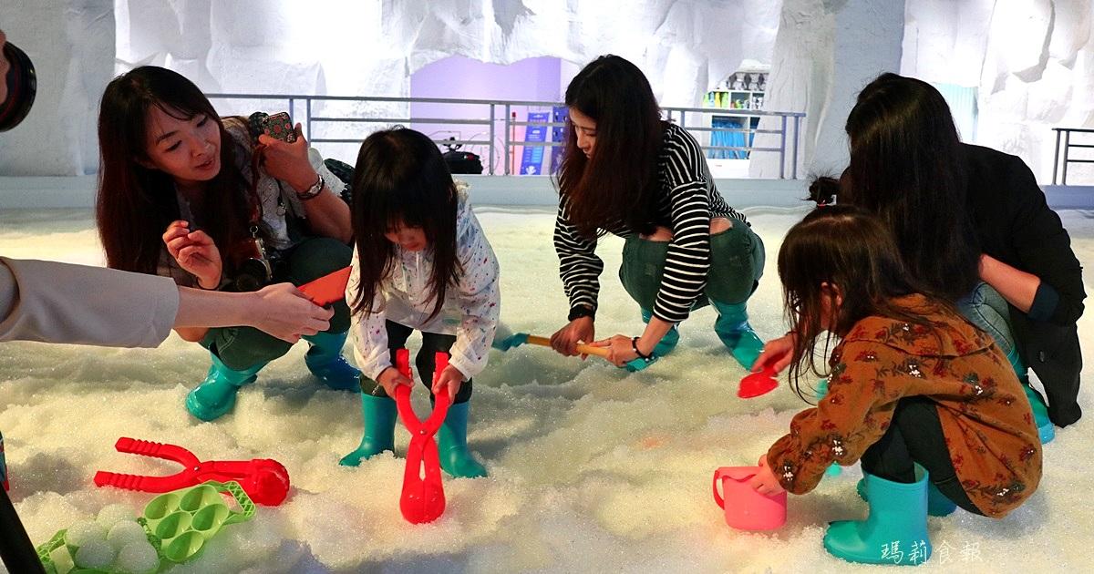 台中三井雪樂地,全台第一家恆溫20度雪場,台中就能堆雪人打雪仗,台中三井OUTLET