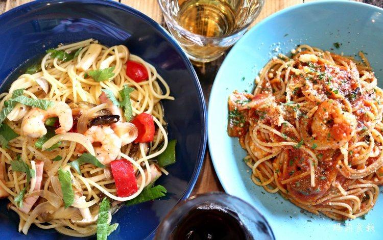 沖繩石垣島|麵處 & cafe トリコ食堂 在南國風情的小食堂裡品嚐義大利麵