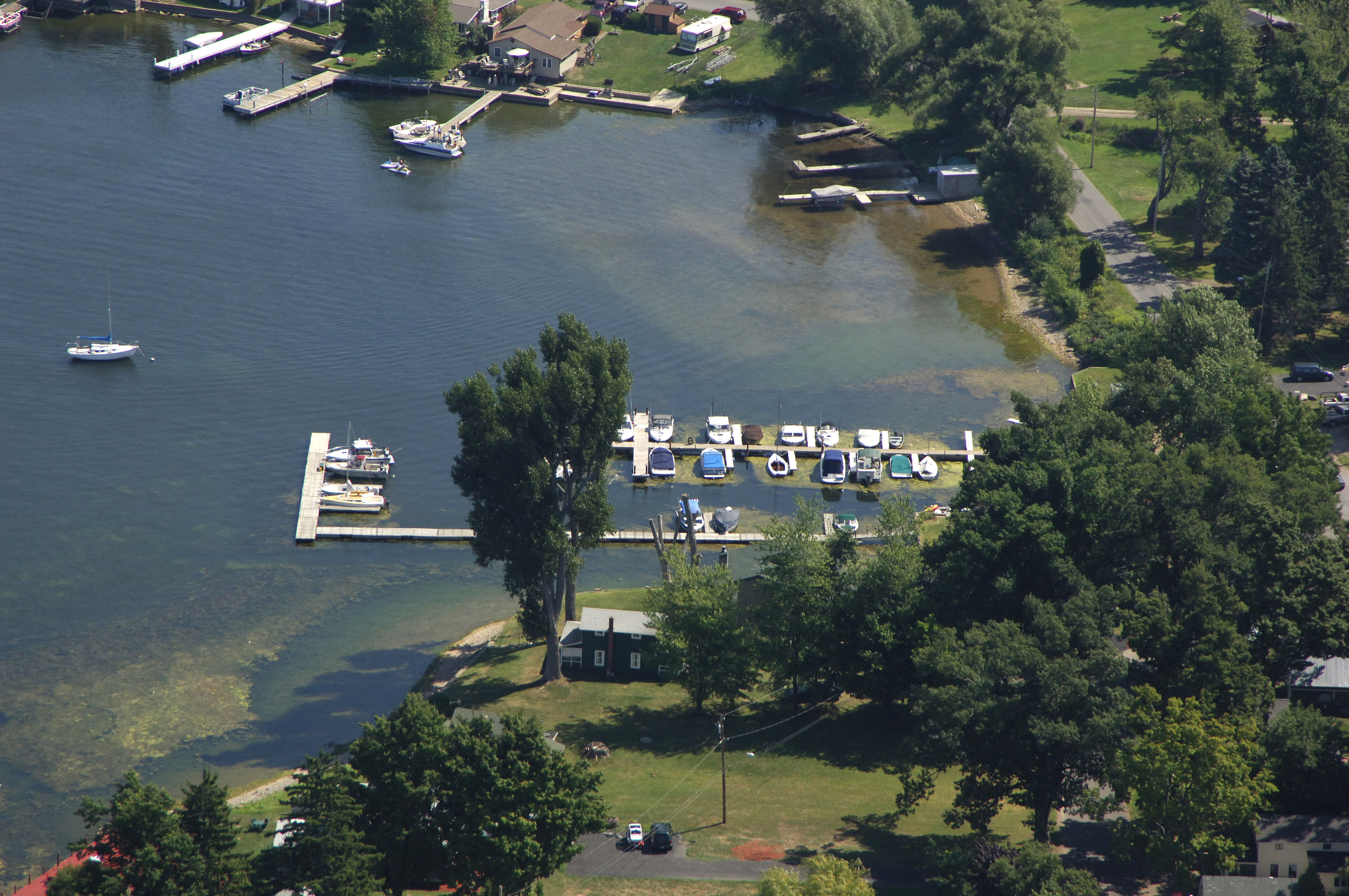 Shawns Marina Amp Campground In Fair Haven NY United