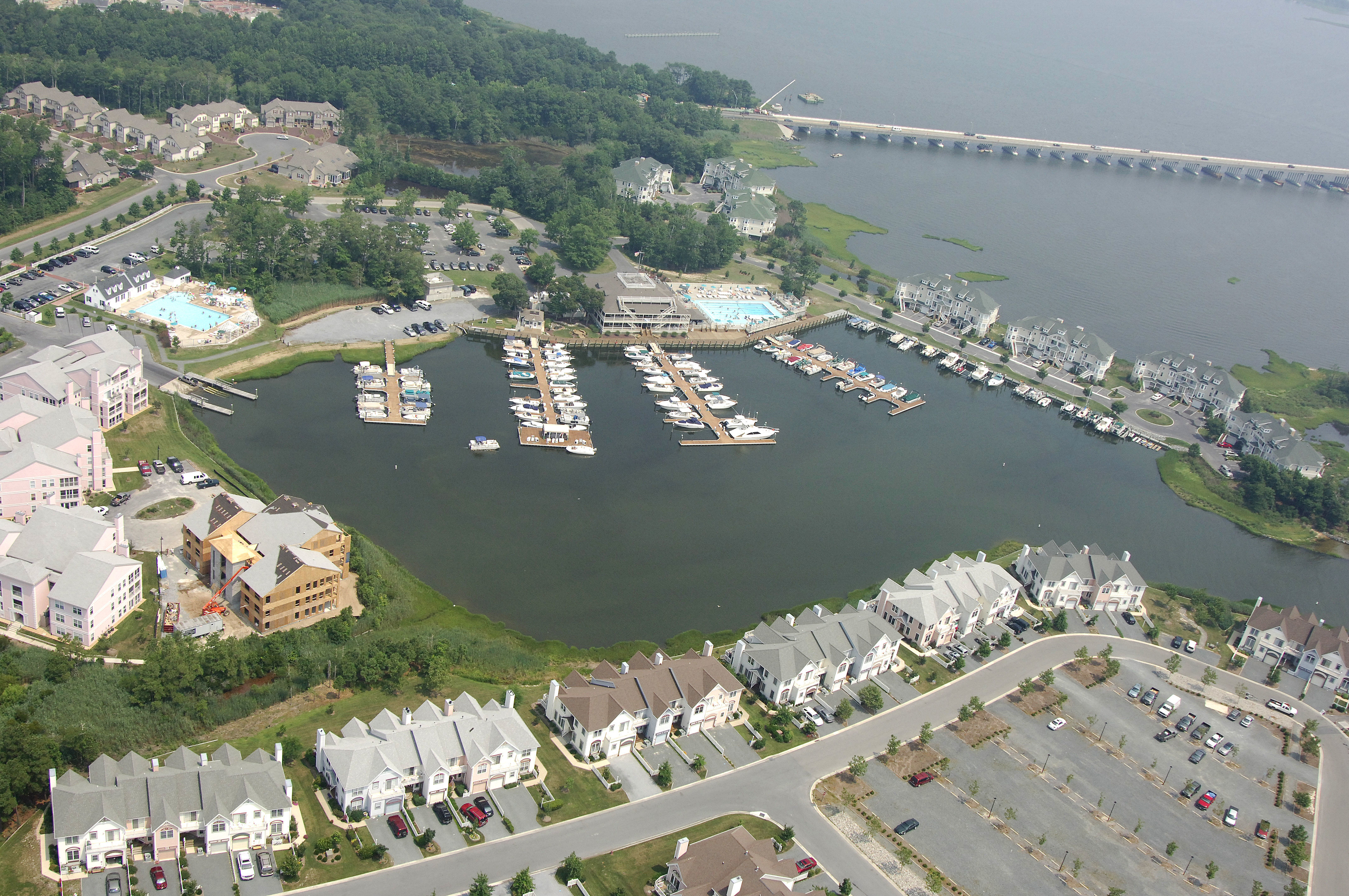Ocean Pines Association Yacht Club Marina In Ocean Pines