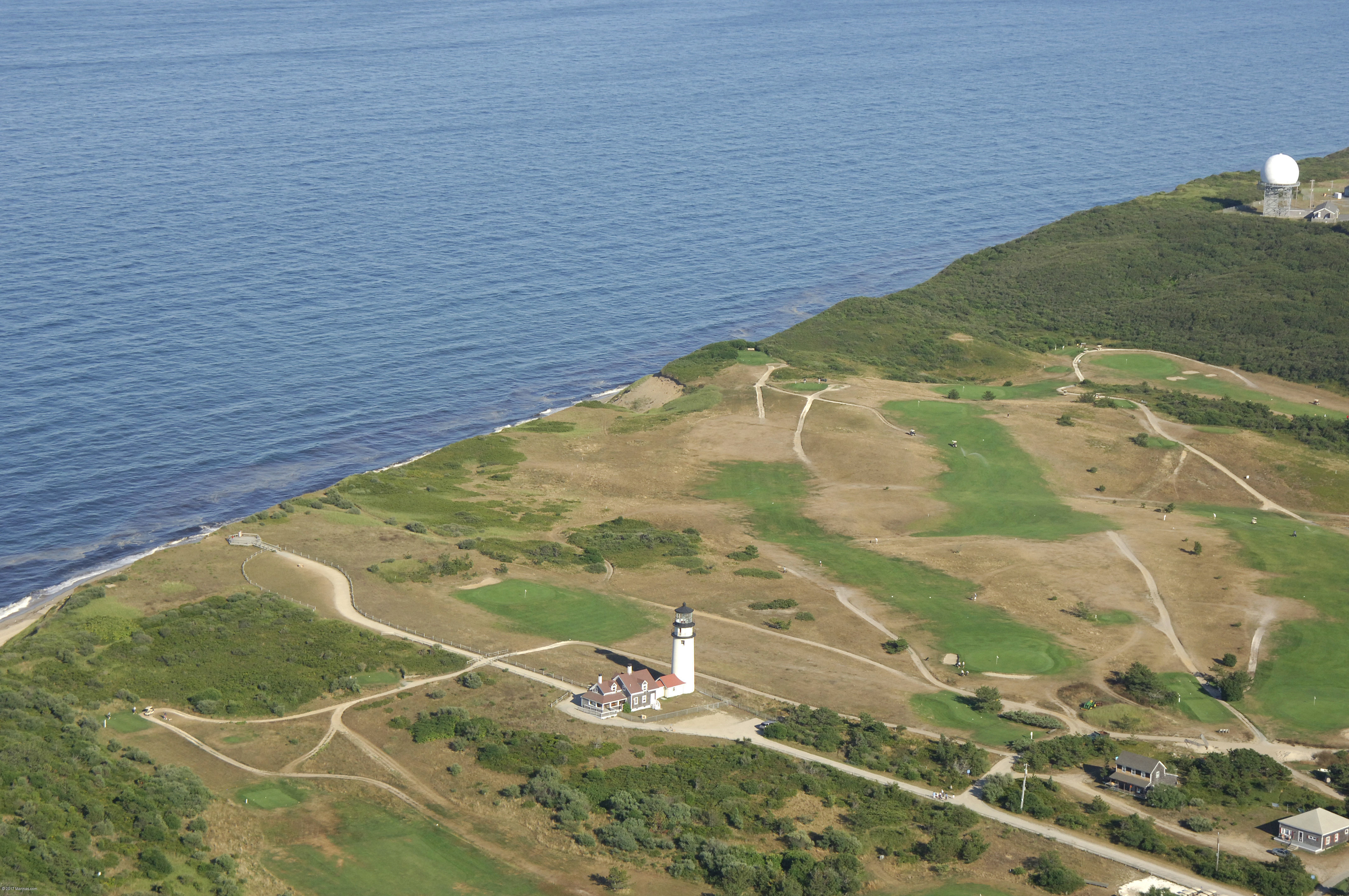 Highland Light Lighthouse In North Truro MA United