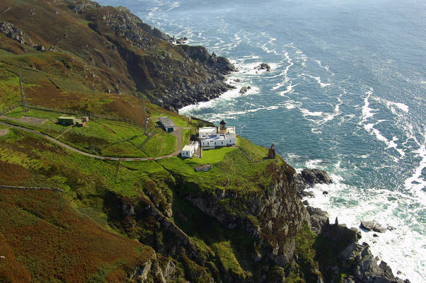 Mull Of Kintyre Lighthouse In Southend SC United Kingdom