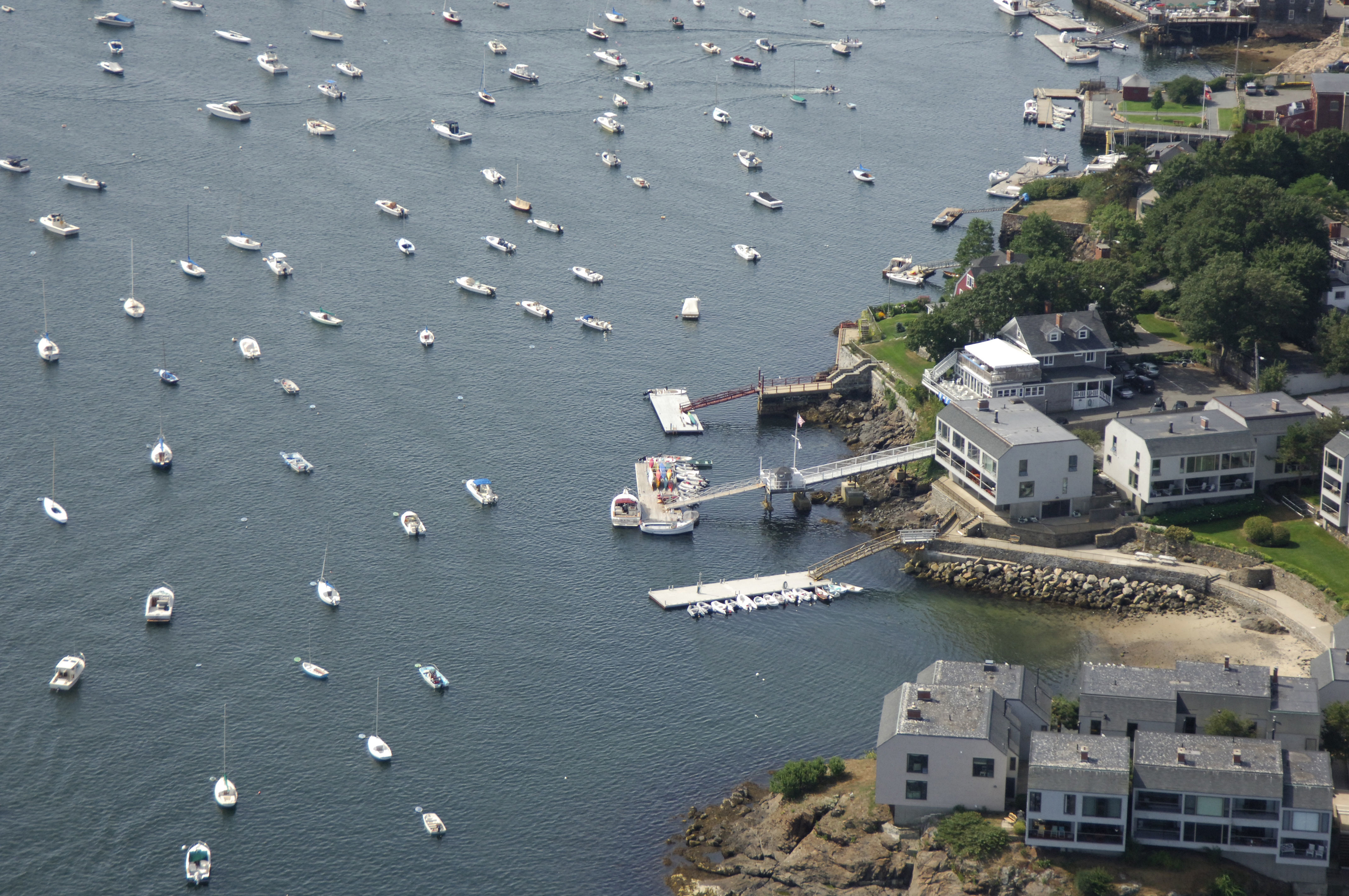 Dolphin Yacht Club In Marblehead MA United States