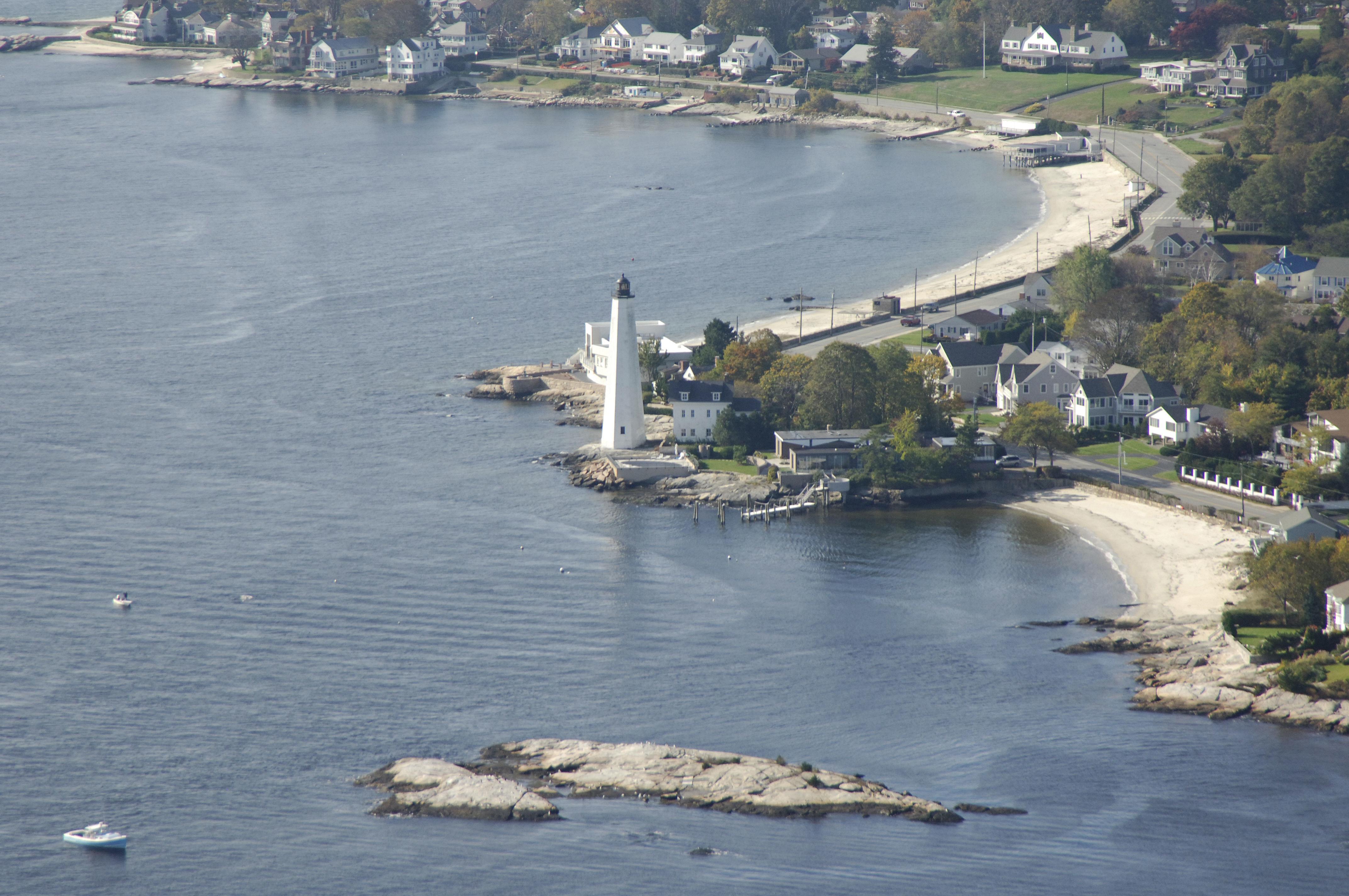New London Harbor Light Lighthouse In New London CT