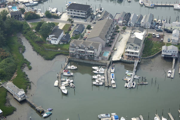 Devils Reach Marina In Cape May NJ United States