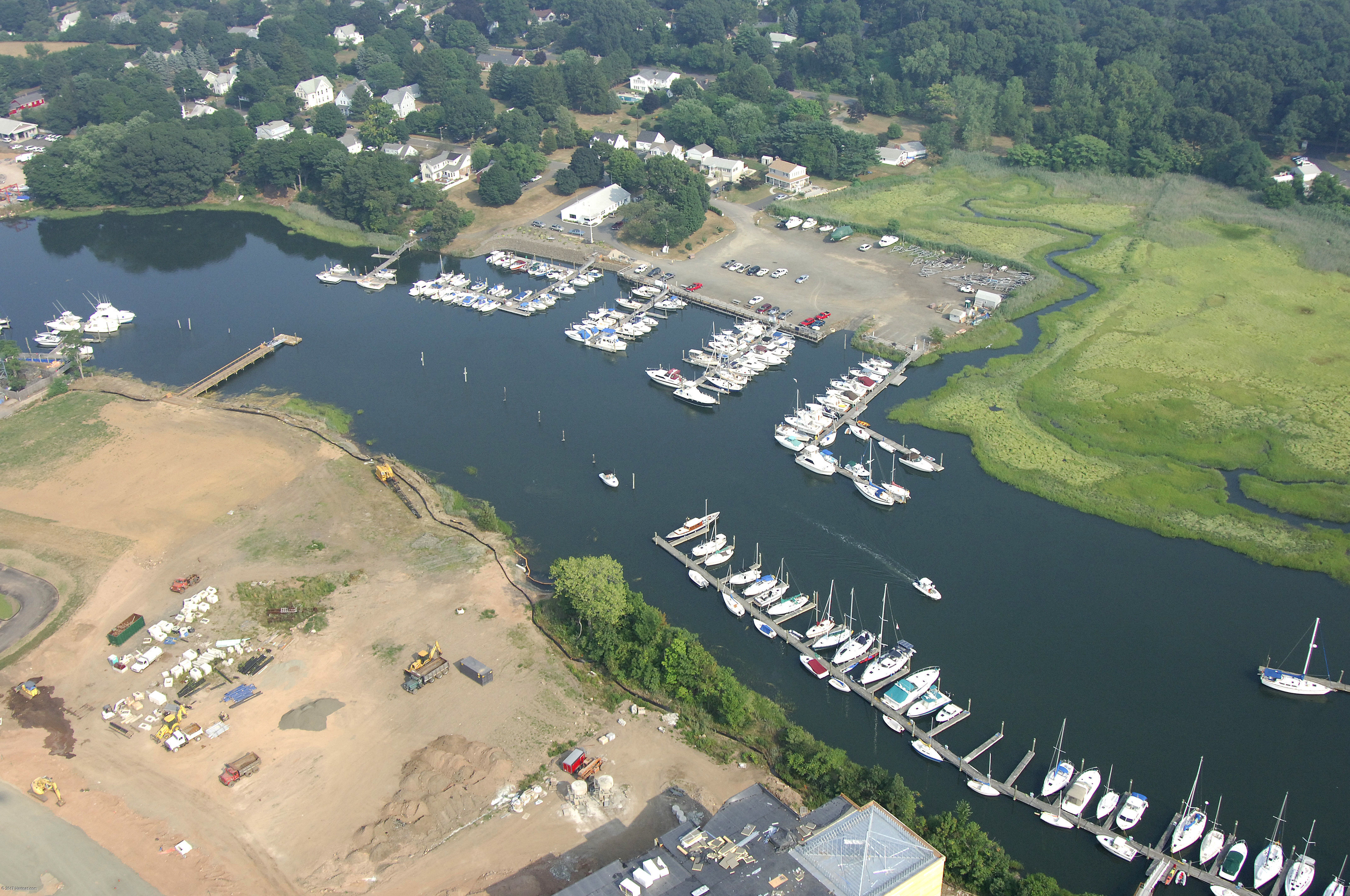 Indian Neck Yacht Club In Branford CT United States