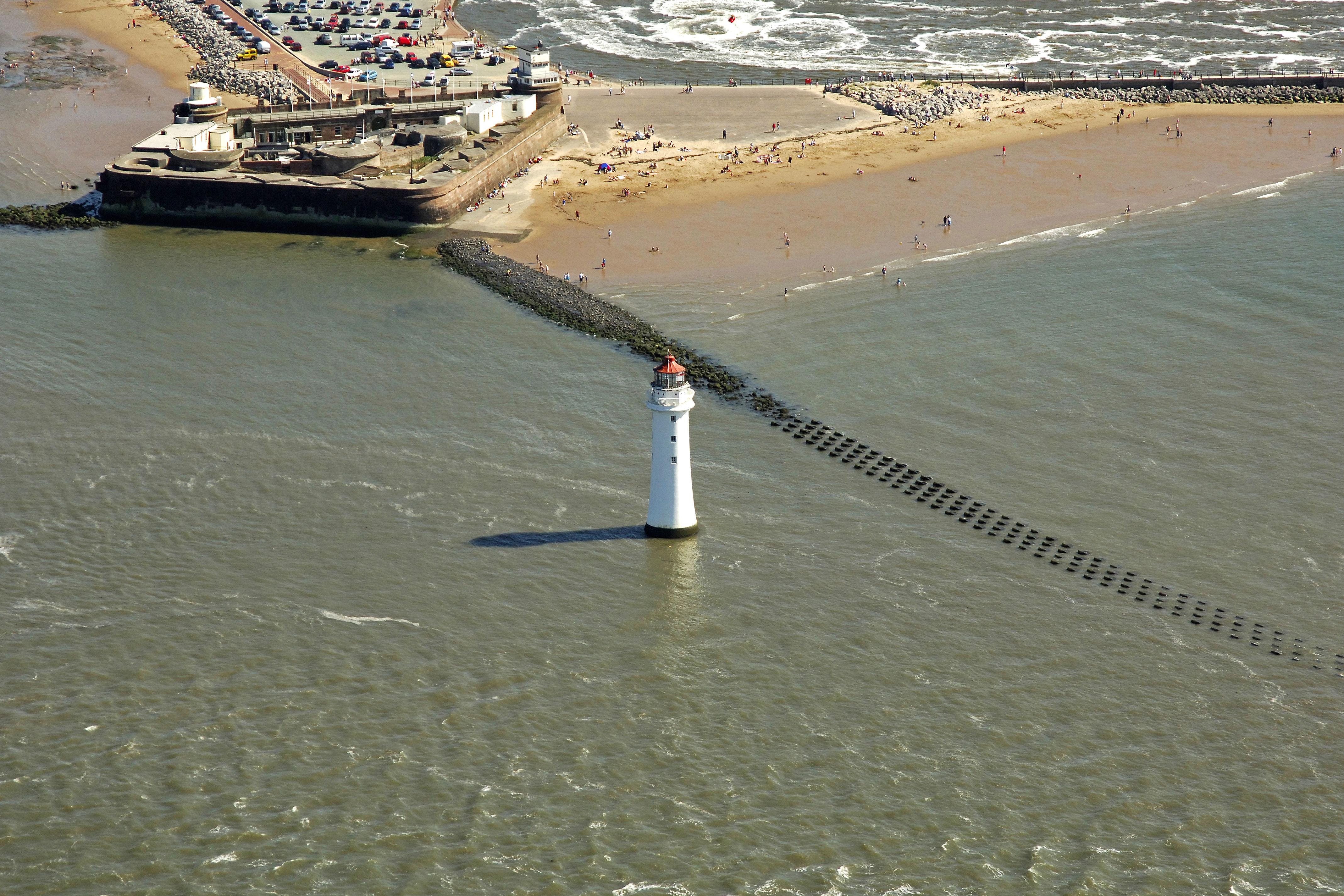 New Brighton Lighthouse In New Brighton GB United