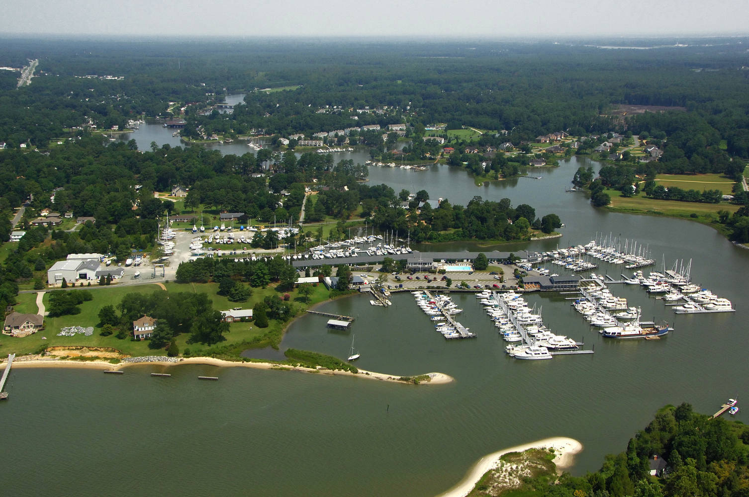 York River Yacht Haven Slip Dock Mooring Reservations
