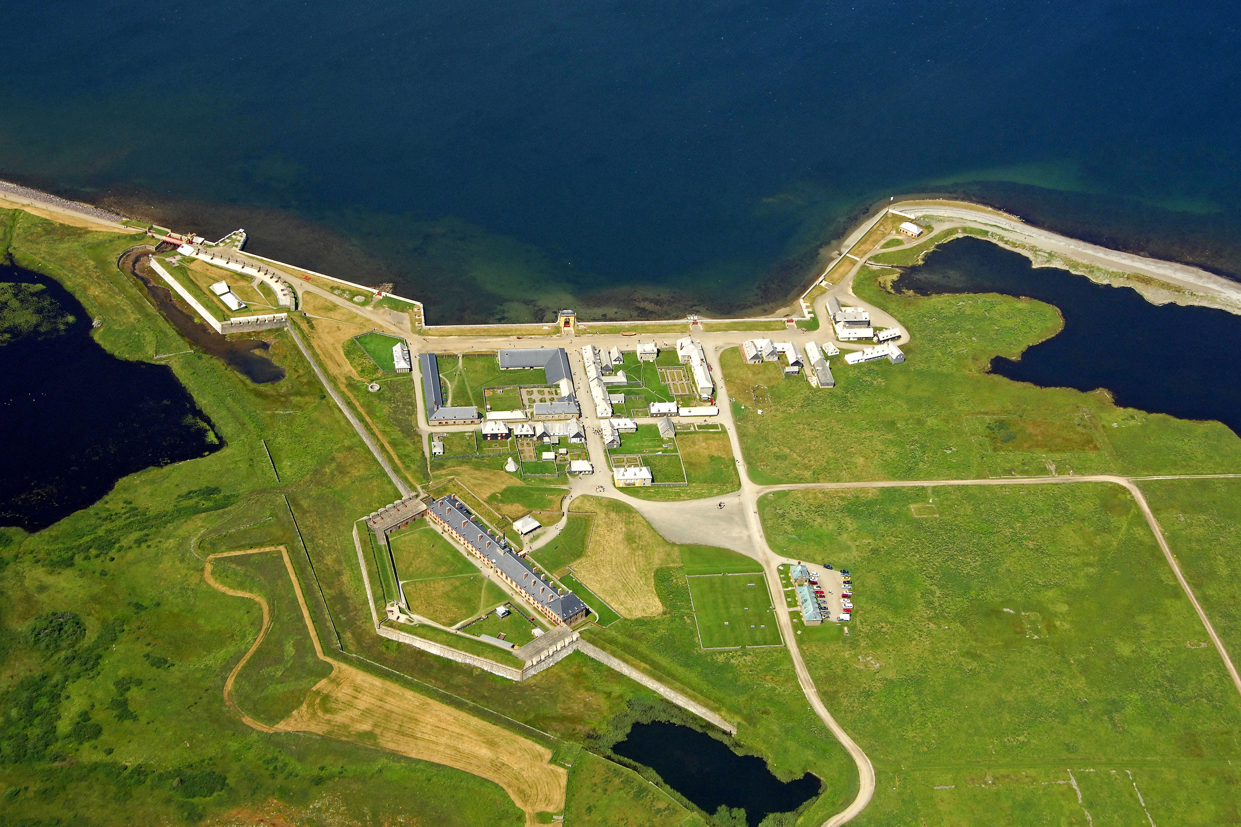 Fortress Of Louisbourg Landmark In Louisbourg NS Canada