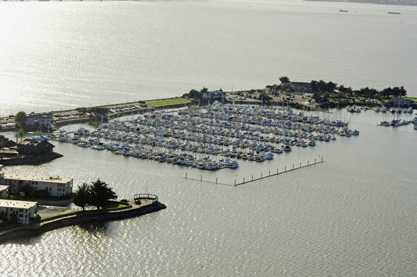 Emery Cove Yacht Harbor In Emeryville CA United States