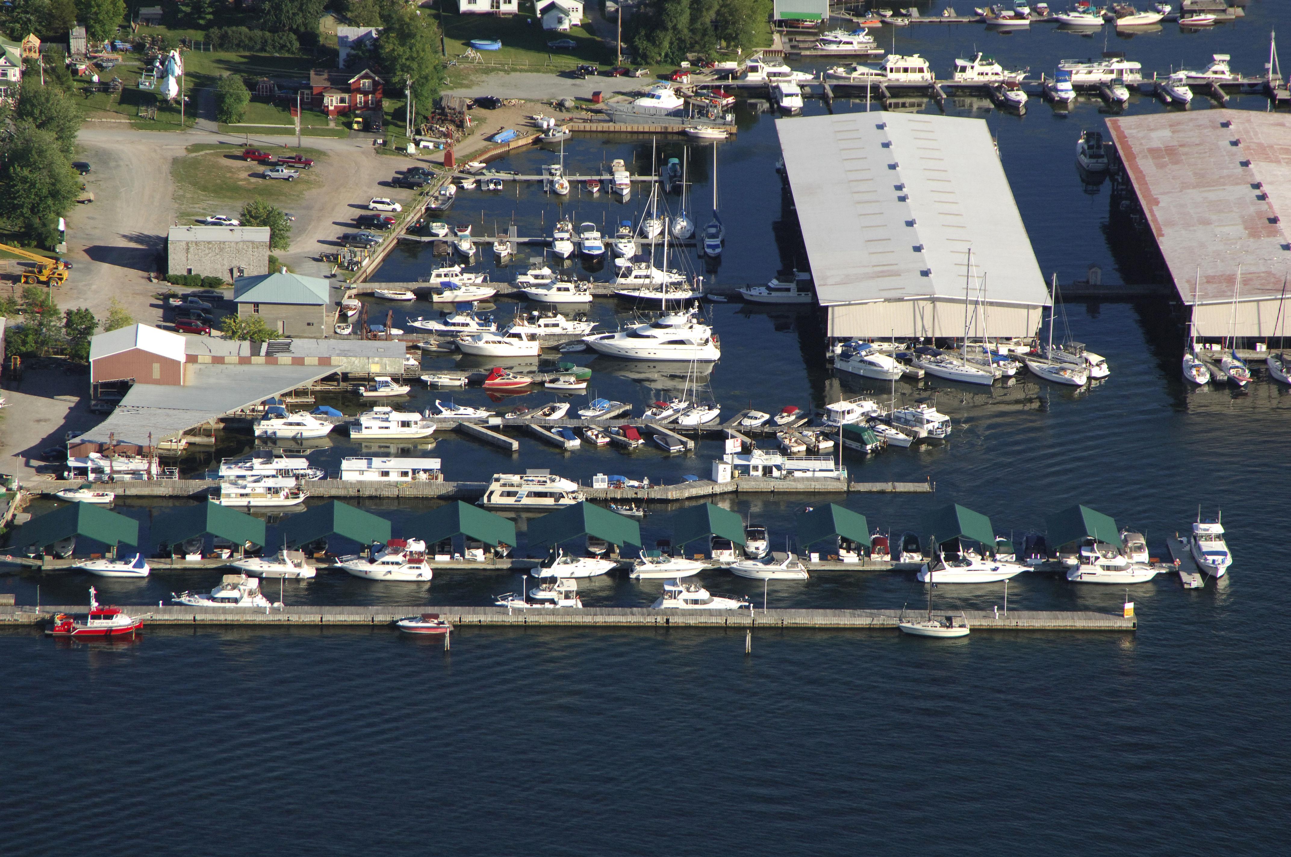 Clayton Municipal Dock In Clayton NY United States