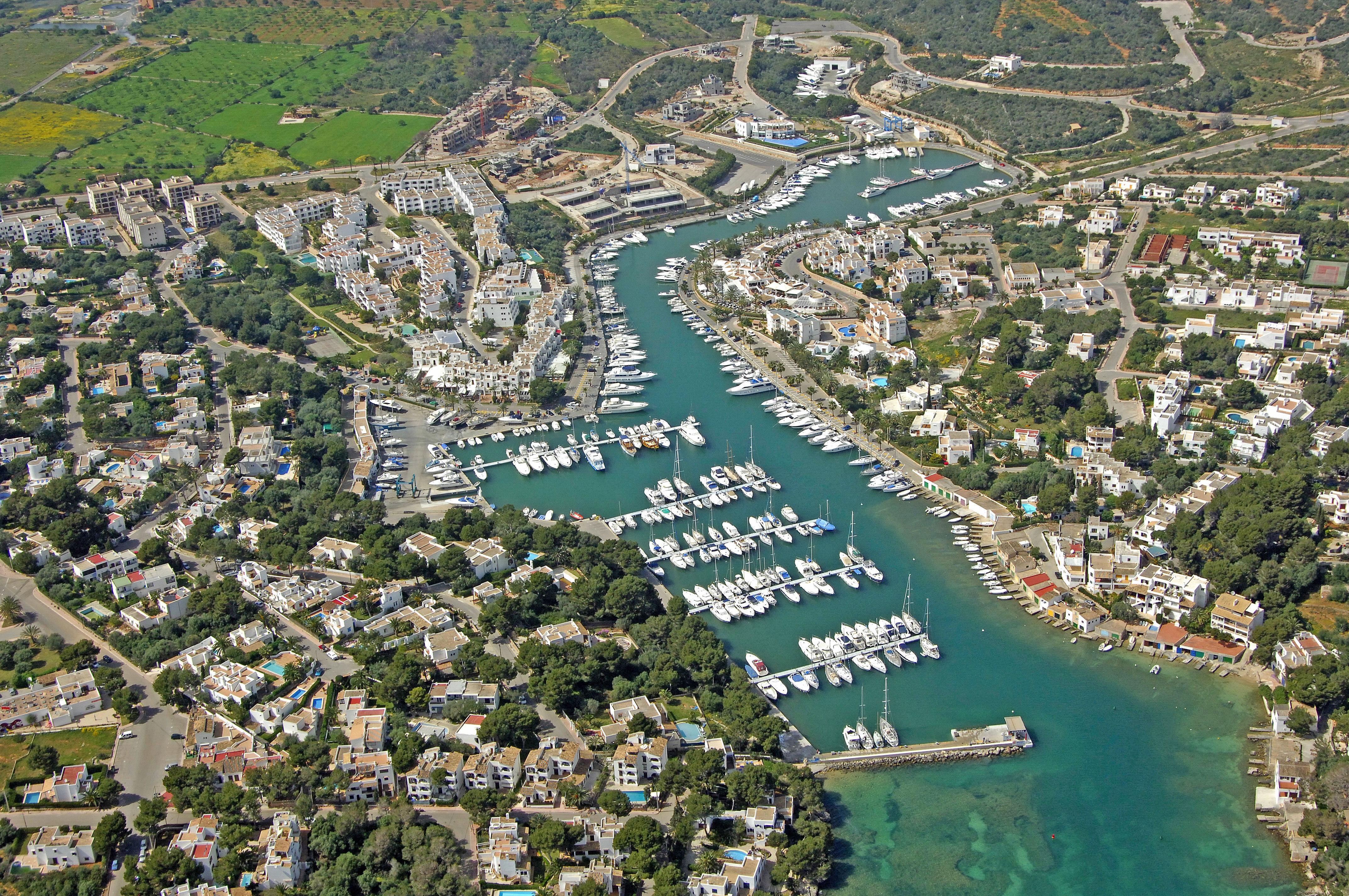 Cala DOr Marina In Cala DOr Mallorca Spain Marina