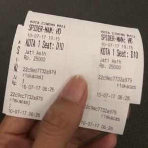 tiket Kota Cinema Mall