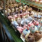 makanan yang dijual di Pasar Natal Spandau