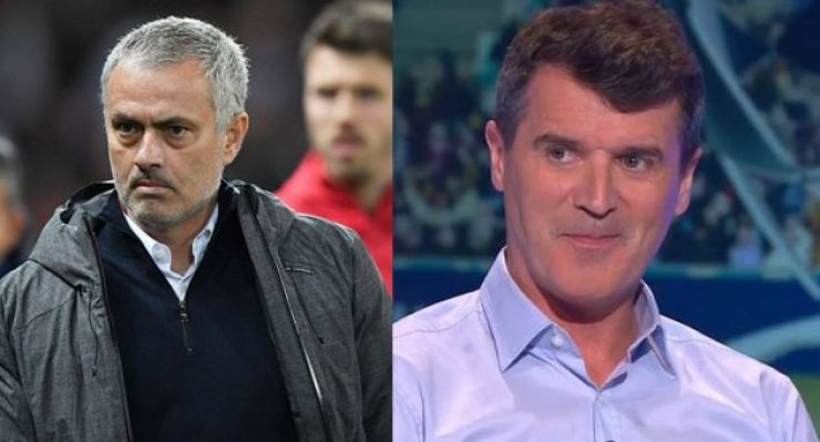 Image result for mourinho roy keane