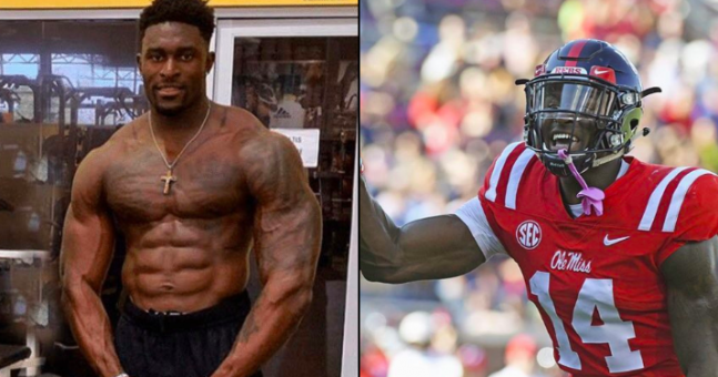 This American Football Player Is 1 6 Body Fat We Asked
