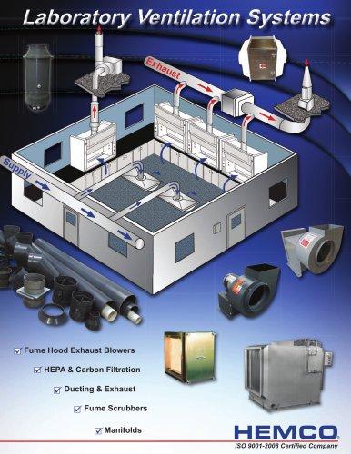laboratory ventilation systems hemco
