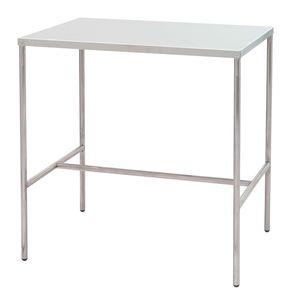 table de conditionnement d instruments medicaux rectangulaire en acier inoxydable