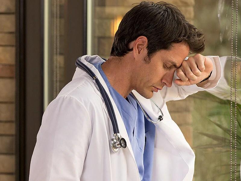 Image result for sad doctor